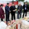 新圩镇销毁一批违法食品药品