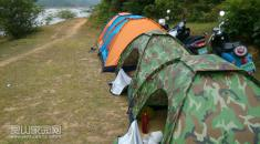 檀圩天顶山的露营