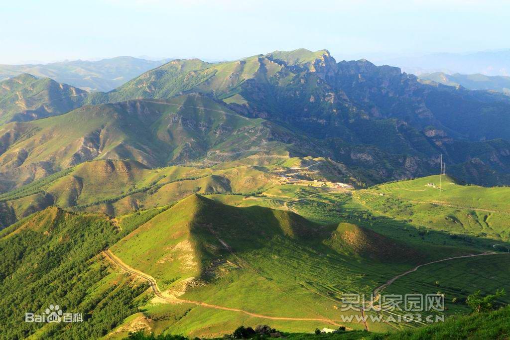 北京——门头沟灵山自然风景区:    灵山景区属市级风景名胜之一
