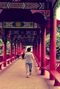 灵山~~风雨桥景