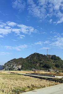 蓝天白云,风景旖旎