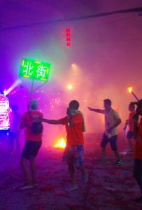 浦北县乐民镇青龙节
