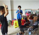致敬老英雄,贺寿显真诚 ----抗日老兵罗照南106岁贺寿