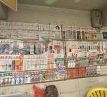 在這優勝劣汰的時代里,靈山還有多少人會光顧這樣的小報刊亭?