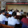 灵山县卫生计生局迎接市人口和计划生育目标管理责任制考核