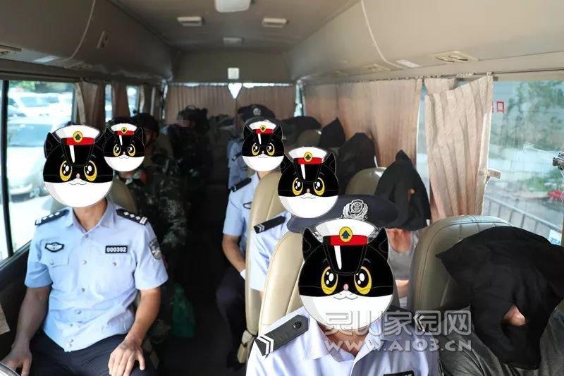 靈山警方赴粵工作組圓滿完成公安部目標案件交接押解任務