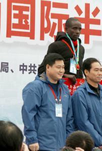 中国广西灵山2018国际半程马拉松现场实况赛事