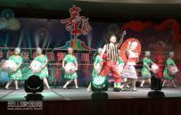 參加第一屆中華老年體育舞蹈(香港)國際藝術節第三十五階段賽事活。舊州鎮老體協..
