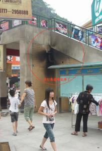 昨天灵山街停电 步行街发电机吵死人
