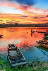 湖光秀色—灵东水库