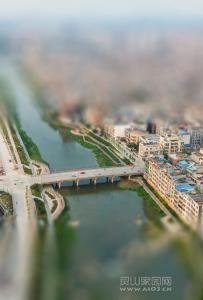 长岗岭大桥全景