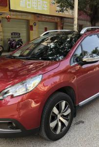 准新车一台2014年1.6自动全景天窗智能钥匙SUV法国标志2008!年审保险到11月一手车!