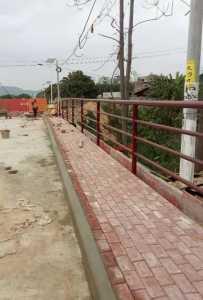 桂山桥就要建好了