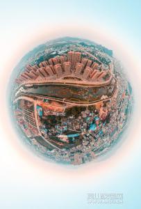 湘桂盛天名城航拍全景