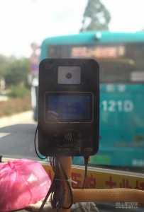 灵山公交新增刷卡机,以后乘车更方便了!