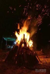 灵东篝火活动