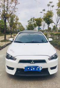 差只月12年三菱翼神自动1.8致尚豪华版,新车落地17万几!
