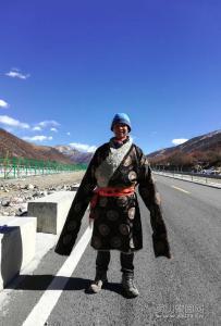 徒步西藏的将军今日终于到达目的地了!