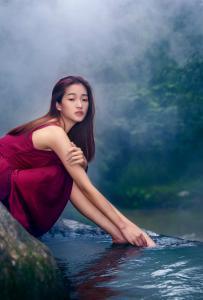 石塘鎮安《美女戲水》